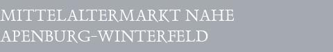 Mittelaltermarkt Apenburg-Winterfeld
