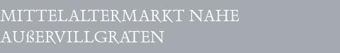 Mittelaltermarkt Außervillgraten